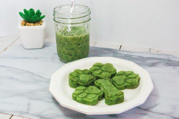 Green Smoothie Dog Treat Recipe
